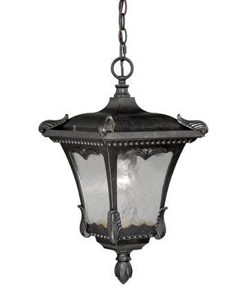 "Astoria Grand Earl 1-Light Outdoor Hanging Lantern  Size: 19.5"" H x 11"" W x 11"" D"
