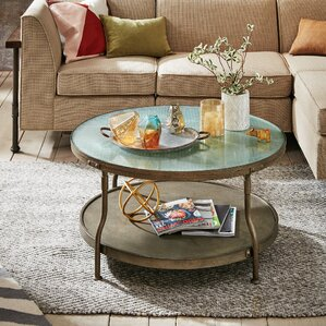 Cambridge Round Coffee Table by INK+IVY
