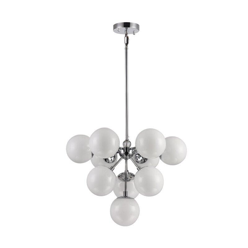 Wrought Studio Stines 10-Light Sputnik Chandelier
