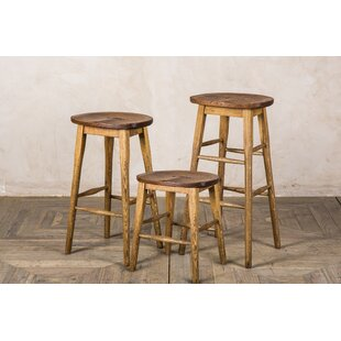 Hoskins 46cm Bar Stool By Union Rustic