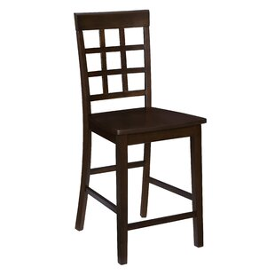 Upshaw Window Pane 24 Bar Stool (Set of 2) by Gracie Oaks