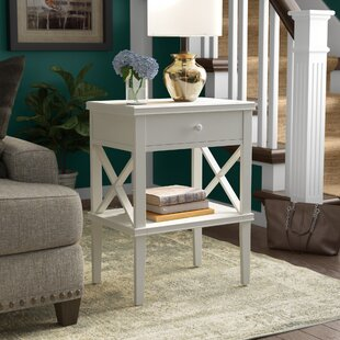 Where buy  Santino Chairside Table By Longshore Tides