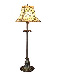 Delmer Diamond Tiffany 25 Table Lamp