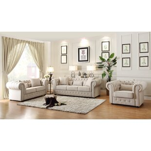 Darby Home Co Pearlie Configurable Living Room Set