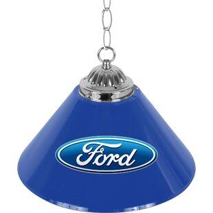 Trademark Global Ford Oval 1-Light Pool Table Lights Pendant