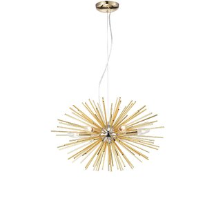 Brayden Studio Sylas 6-Light Sputnik Chandelier