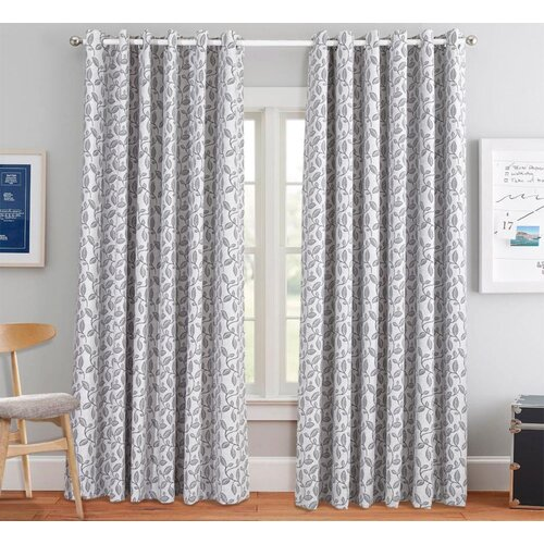Beacon Falls Eyelet Room Darkening Thermal Curtains ClassicLiving Panel Size: Width 117cm x Drop 228cm, Colour�: Grey