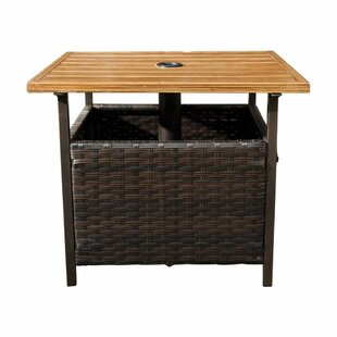 Gorgas Wicker Side Table