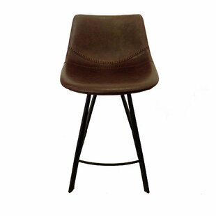 Traver Baseball 26 Bar Stool (Set Of 2) by Union Rustic Modern