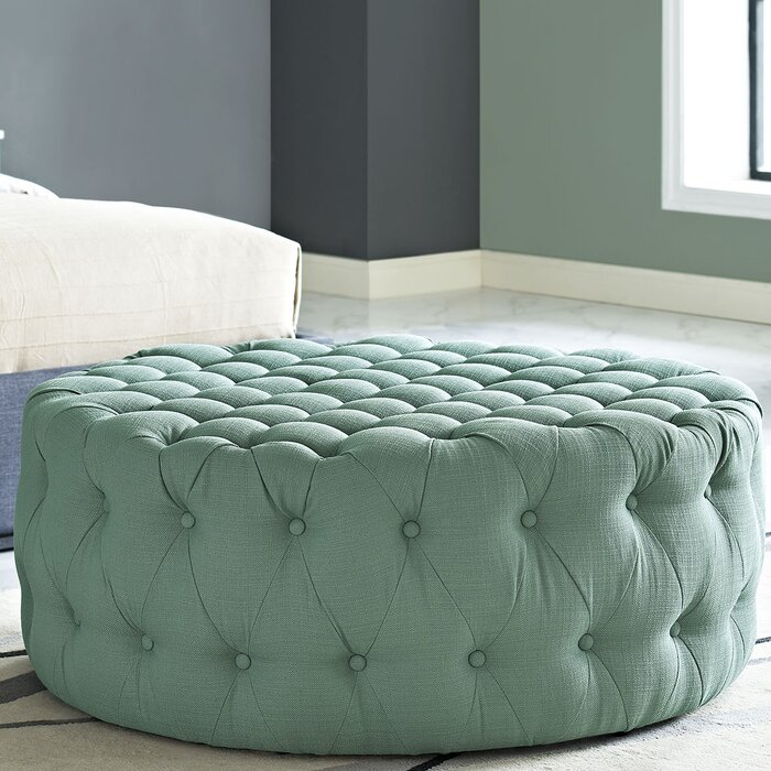 Pleasing Kenedy Tufted Cocktail Ottoman Pabps2019 Chair Design Images Pabps2019Com