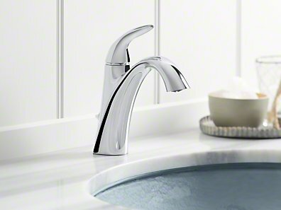 Alteo Single Handle Bathroom Sink Faucet With Optional Pop Up Drain Embly