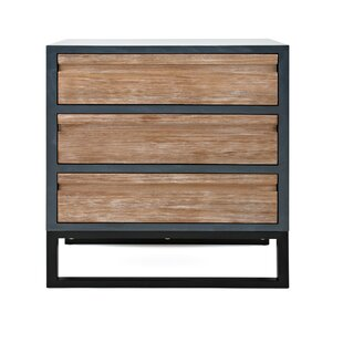 Robbie 3 Drawer Accent Chest b..