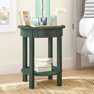 Beachcrest Home Beauford 1 Drawer End Table