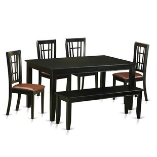 Araminta 6 Piece Dining Set Alcott Hill