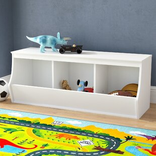 Inexpensive Leonor Stackable 3 Bin Storage Cubby ByViv + Rae