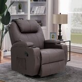 Faux Leather Heated Massage Chair