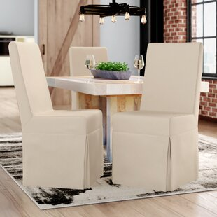 Liwanu Slipcover Side Chair (Set of 2) Trent Austin Design