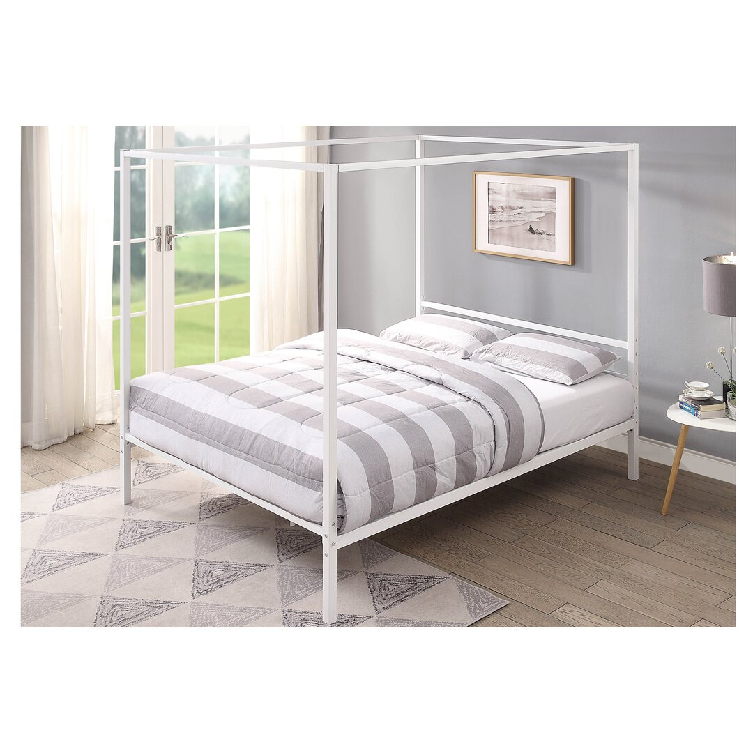 Clements Four Poster Bed with Mattress