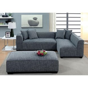 Parry Reversible Modular Sectional with Ottoman by Orren Ellis