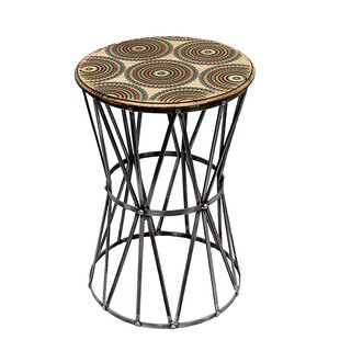 Chamberlan End Table by Bungalow Rose