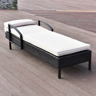 Ebern Designs Heckstall Patio Outdoor Chaise Lounge