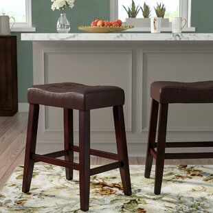 Lyndale Saddle 24 Bar Stool (Set of 2)
