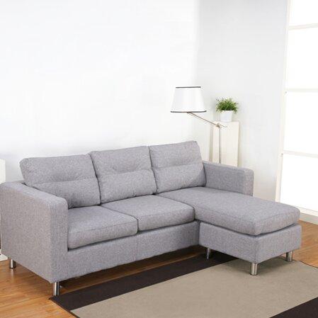 Rathbun Reversible Chaise Corner Sofa