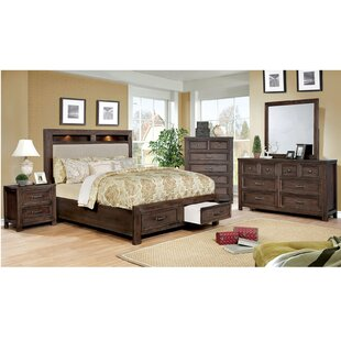 Ertha Upholstered Storage Platform Bed