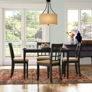 Oneill 5 Piece Windown Back Dining Set by Andover Mills
