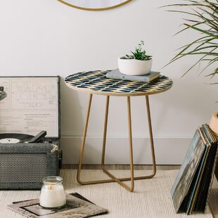 Emmie K Simple Drop End Table by East Urban Home