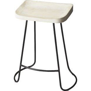 Mastin 24.25 Bar Stool Gracie Oaks
