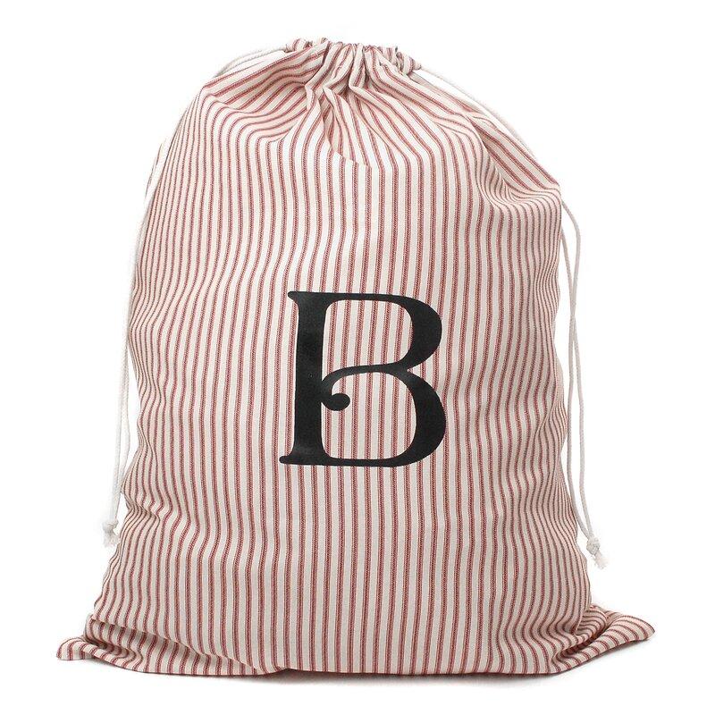 Monogrammed Laundry Bag