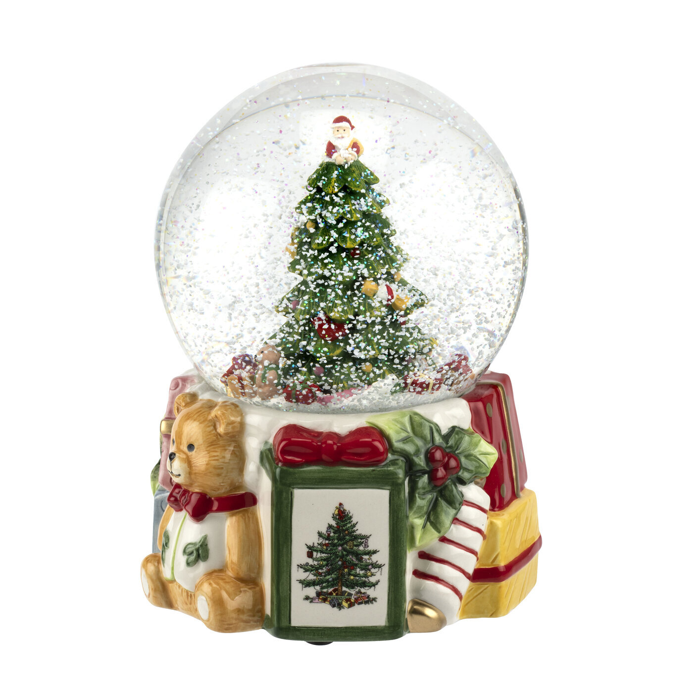 Spode Christmas Tree Musical Snow Globe Reviews Wayfair