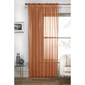 Vertigo Voile Single Curtain