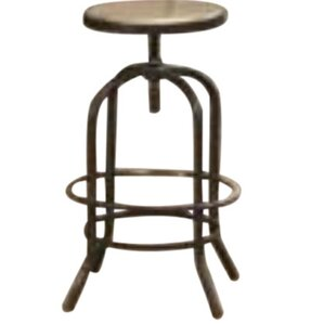 Fairfax Adjustable Height Bar Stool by Diamond Sofa
