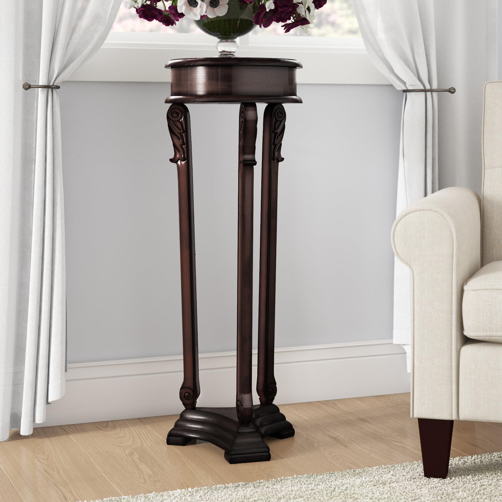 0a151f8e178f Astoria Grand Wyton Pedestal Plant Stand & Reviews   Wayfair