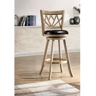 Argent 1-Piece Swivel Bar Stool by Winston Porter