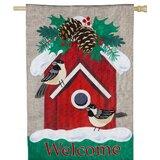Green Evergreen Flag Garden Christmas Flags You Ll Love In 2021 Wayfair