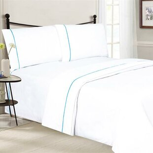 Santi Luxurious Microfiber 4 Piece Sheet Set
