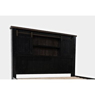 Great Price Flournoy Bookcase Headboard by Millwood Pines