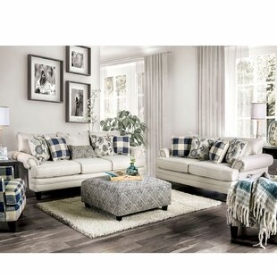 Mandalay 2 Piece Living Room Set by Canora Grey