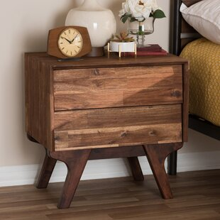 Union Rustic Tion 2 Drawer Nightstand