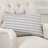 Jarrell Stripe Cotton Lumbar Pillow