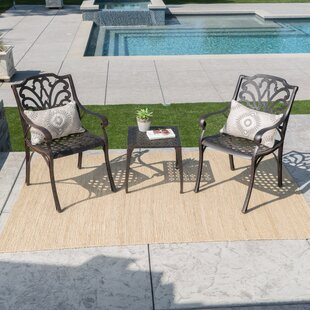 Kavanaugh 3 Piece Conversation Set by Charlton Home