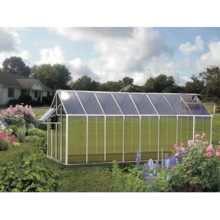 Riverstone Industries Monticello Mojave 8.1 Ft. W x 16.3 Ft. D Greenhouse