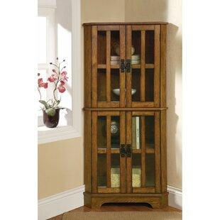 Van Nest Corner Curio Cabinet