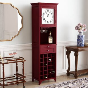 Obannon 24 Bottle Floor Wine Cabinet by Darby Home Co