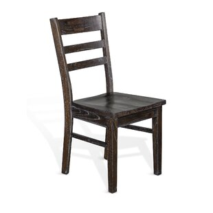 Campana Ladder Back Side Chair in Brown