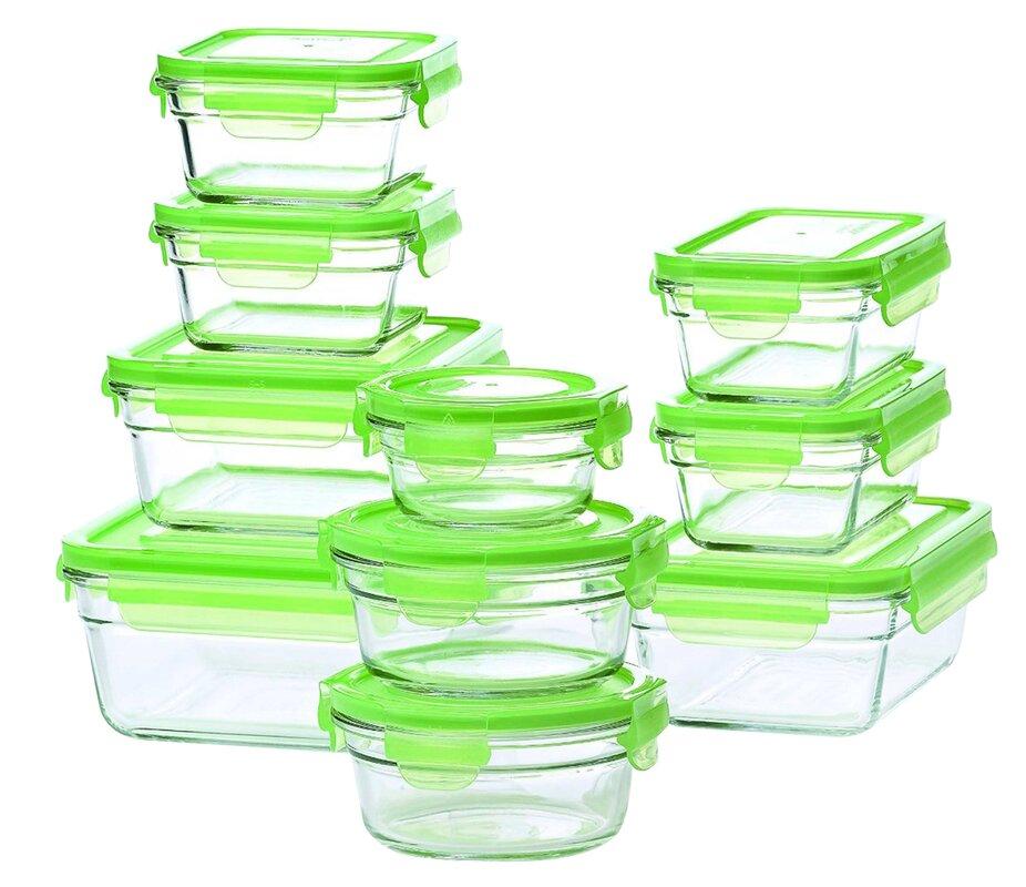 Good Glasslock 10 Container Food Storage Set