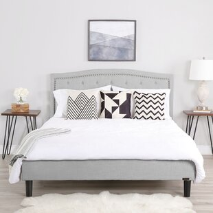 Finch Upholstered Platform Bed by Alcott Hill